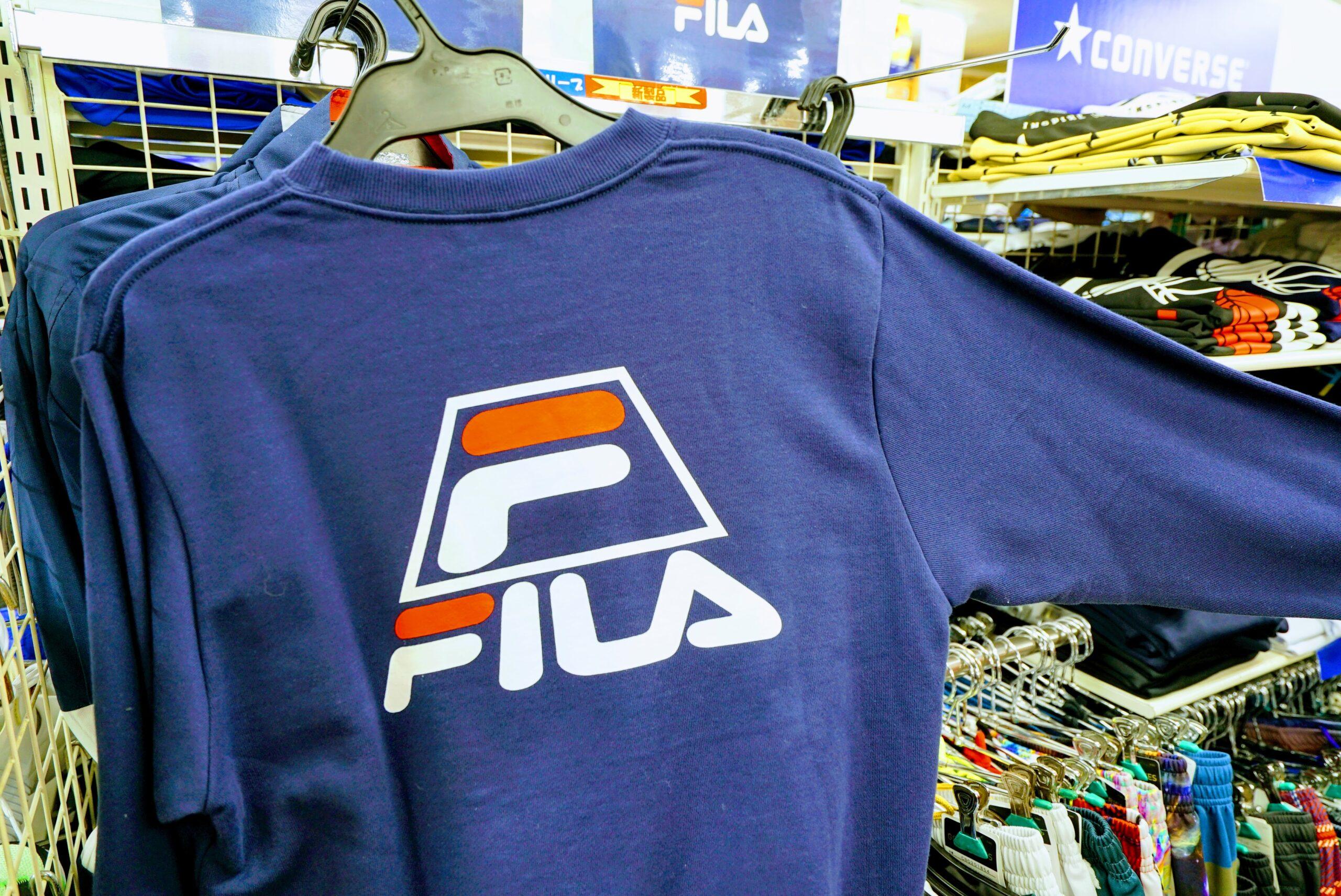 FILAスポーツウェア ロングTシャツ
