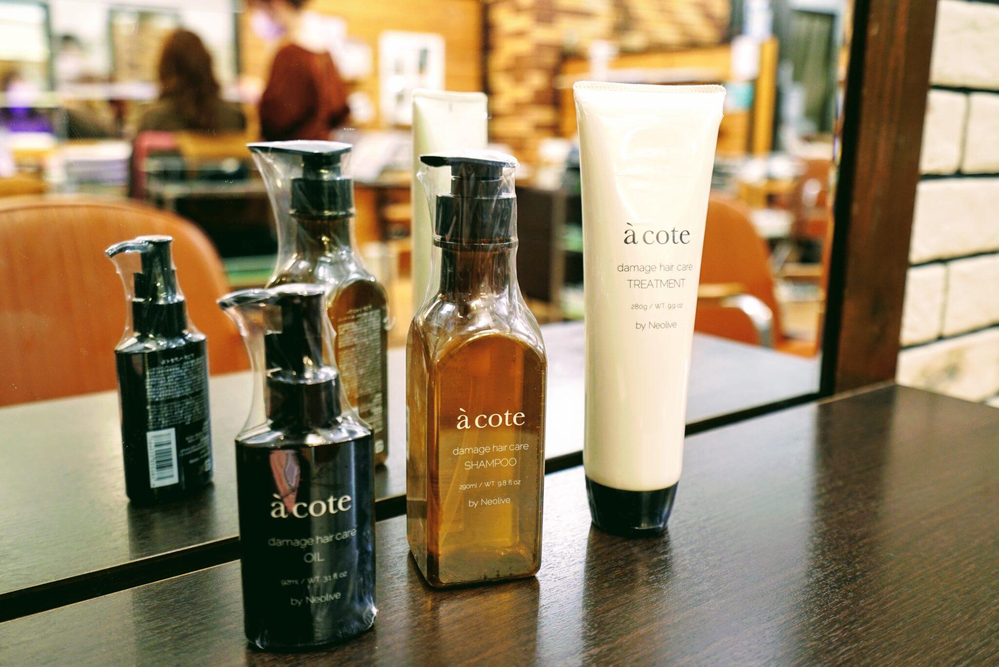 acote(シャンプー290ml) ¥3,850(税込)