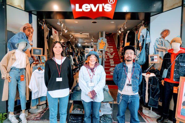 Levi's store 上野